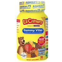 L'il Critters 丽贵 儿童复合维生素补锌vc软糖 70粒