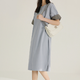 ANNE KLEIN 安妮·克莱因 BAB1251LHG 女装宽松冷淡风裙子 180元