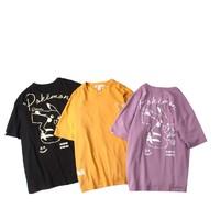 PANMAX 潘·麦克斯 PKAS-TS026 宝可梦联名 男士T恤