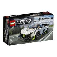 LEGO 乐高 超级赛车系列 76900 柯尼塞格