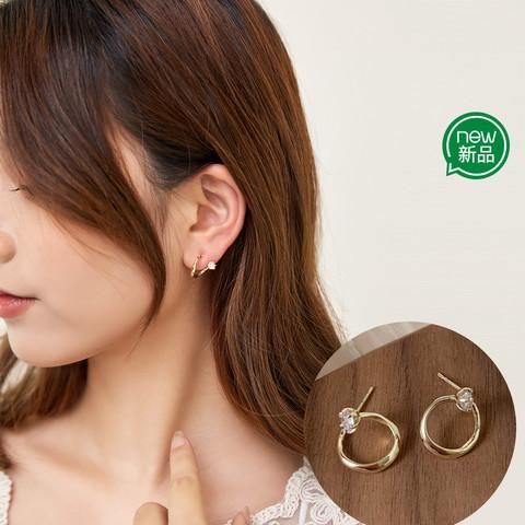 CHIMERA 奇美拉 设计感独特小众耳钉日韩优雅气质耳饰女