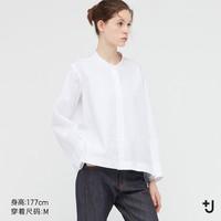 UNIQLO 优衣库 437792 女装 +J SUPIMACOTTON夹克式衬衫