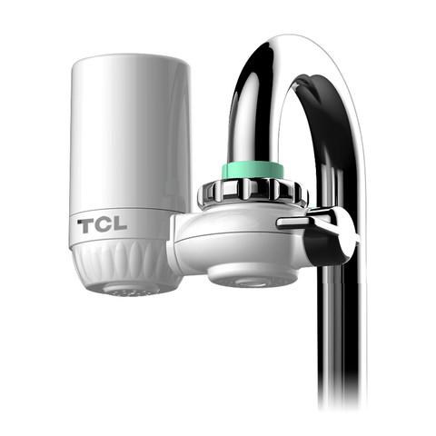 TCL 净水器家用厨房水龙头过滤器 自来水净化滤水器前置直饮净水机 一机一芯