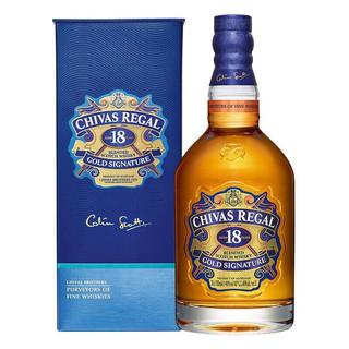 CHIVAS 芝华士 18年洋酒 威士忌 700ml