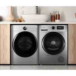 Midea 美的 洗烘套装 (MG100V70WD5-Y1Y +MH100VTH707WY) 10kg全自动洗衣机+10kg热泵烘干机