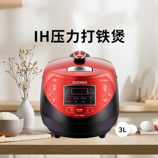 CUCKOO 福库 韩国原装进口压力小型电饭锅智能家用多功能电饭煲3l