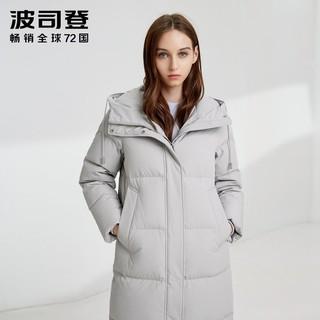 BOSIDENG 波司登 女长款新款冬羽绒服休闲保暖外套