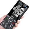 京崎(TOOKY)X9S 老人手机全网通4G移动联通电信超长待机直板按键学生备用老年机 典雅黑