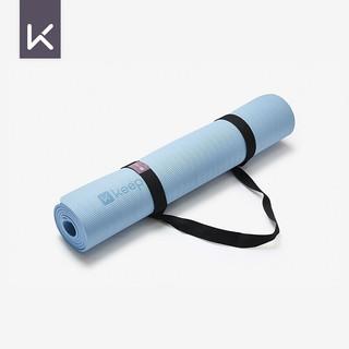 Keep TPE健身垫瑜伽垫183*80cm防滑加长运动垫男女加厚7mm厚 蓝色