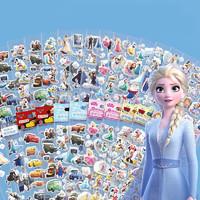Disney 迪士尼 儿童卡通贴纸贴画艾莎公主泡泡贴  幼儿园小红花奖励贴粘贴画六一儿童节礼物