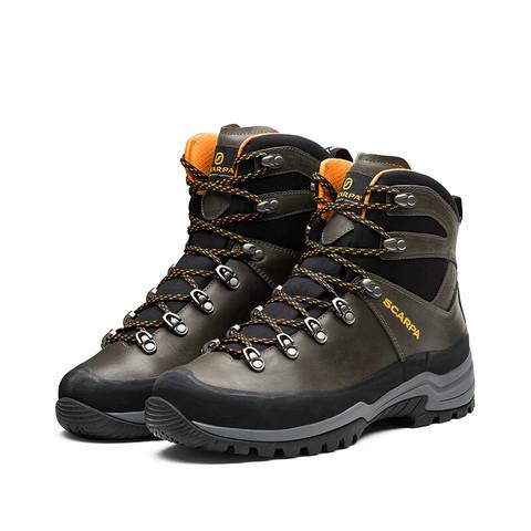 SCARPA 思卡帕 徒步鞋男鞋 HORIZON 地平线 GTX防水登山鞋 抓地缓震户外鞋 苔藓棕 44
