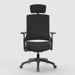 UE 永艺 人体工学椅 黑框黑布