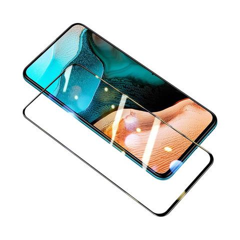 ESR 亿色 红米k30pro钢化膜Redmi 5g变焦版手机膜全屏全覆盖包边玻璃膜mi防指纹无白边贴膜 蓝光