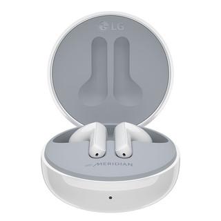 LG 乐金 耳机真无线蓝牙 分体式耳机 通话降噪 蓝牙耳机 迷你入耳式手机耳机收纳充电盒白色HBS-FN6.ABCNWH