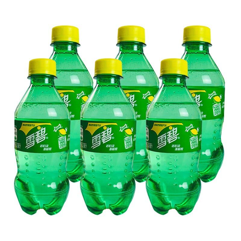 Coca-Cola 可口可乐 激爽夏日汽水饮料系列 雪碧 300ml*6瓶