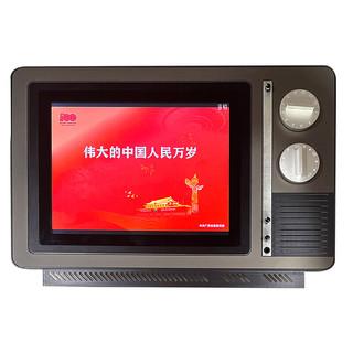 杰显维广告一体机显示器工业触摸屏广告机怀旧版可定制尺寸电脑智能 定制款定金