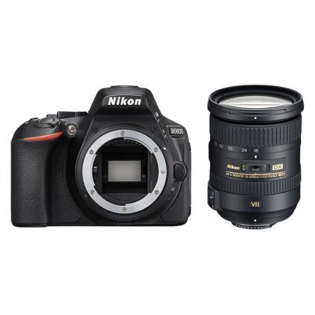 Nikon 尼康 D5600 APS-C画幅 数码单反相机 黑色 18-200mm F3.5 ED VR II 长焦变焦镜头 单镜头套机