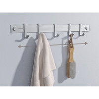 ARROW 箭牌卫浴 AEO3L1102-6 浴室挂件 太空铝哑银挂衣钩