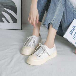 Semir 森马 10F9321141033 厚底小白鞋