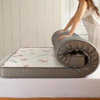 移动端:琳豆豆 乳胶软垫记忆棉床垫 10cm 立体 90*200cm
