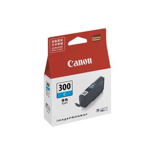 Canon 佳能 PFI-300 C  青色墨盒 (适用机型PRO-300)