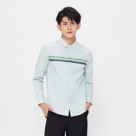 Semir 森马 13C010051233-0448 男士长袖衬衫