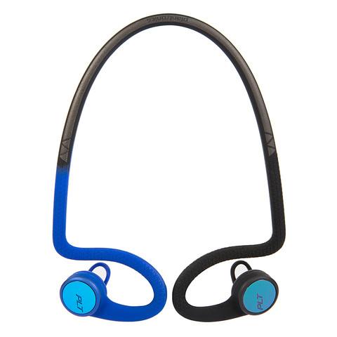 Poly 博诣 BACKBEAT FIT 2100 半入耳式挂耳式颈挂式蓝牙耳机 动感蓝