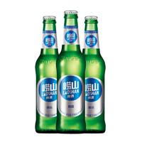 经典小瓶装   啤酒   316ml*24瓶+青岛崂山啤酒 清爽 8度 黄啤 330ml*24听