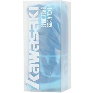 川崎 Kawasaki健身跑步羽毛球运动毛巾全棉吸汗舒适 40cmX80cmKTW-960
