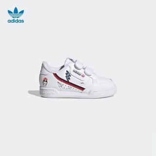 阿迪达斯官网adidas三叶草 CONTINENTAL 80 CF I婴童运动鞋FX6071