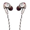 OSTRY 奥思特锐 琉璃 入耳式挂耳式圈铁有线耳机 白金色 3.5mm