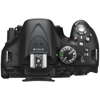 Nikon 尼康 D5200 全画幅 数码单反相机 黑色 AF-S DX 18-105mm F3.5 G ED VR 变焦镜头 单镜头套机