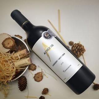 Auscess 澳赛诗 AUSCESS) 金A库纳瓦拉赤霞珠干红葡萄酒 750ml 1瓶装
