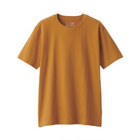 MUJI 无印良品 ABA01A0S 男士圆领短袖T恤