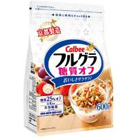 Calbee 卡乐比 水果麦片 糖质OFF口味    600g