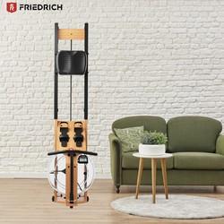 FriedRich 腓特烈 RS1 智能水阻双轨划船机 榉木款
