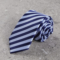HLA 海澜之家 HZLAD1R028A28 条纹箭头型领带