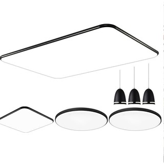 NVC Lighting 雷士照明 led吸顶灯 108W 客厅+卧室*3+餐吊灯