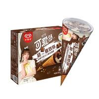 WALL'S 和路雪 可爱多 冰淇淋 非常巧克力味 67g*6支
