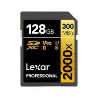 Lexar 雷克沙 PROFESSIONAL 存储卡 128GB(UHS-II、V90、U3)