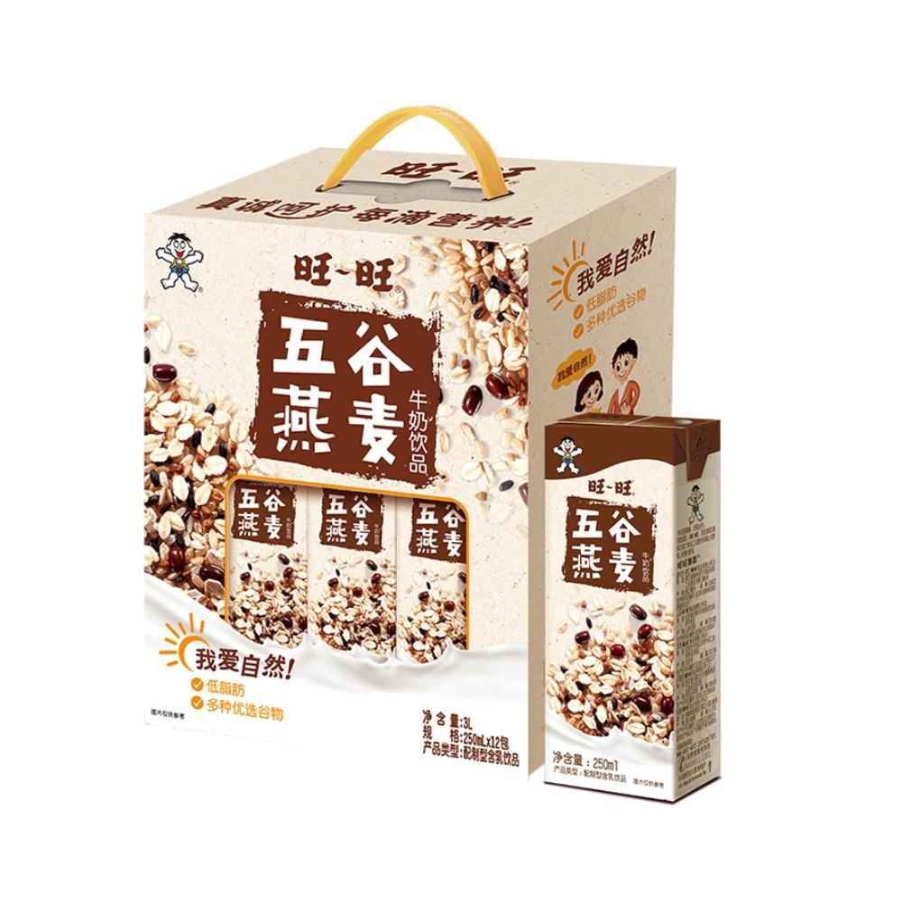 88VIP : Want Want 旺旺 五谷燕麦牛奶   250ml*12盒