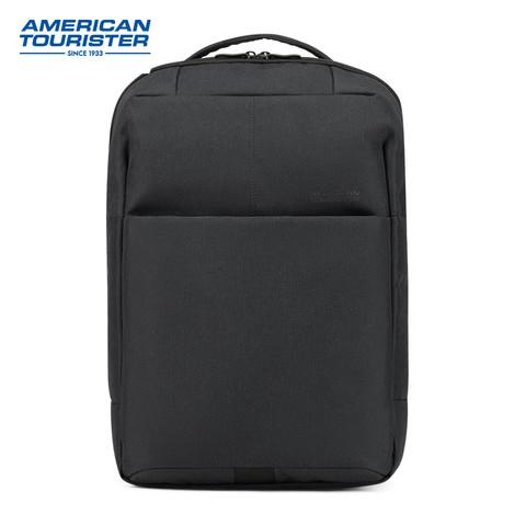 AMERICAN TOURISTER 美旅 背包男双肩包休闲大容量电脑包学生书包都市商务通勤背包TP8