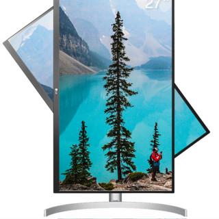 LG 乐金 27UL550 27英寸显示器(3840×2160、60Hz、5ms)