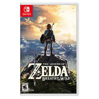 Nintendo 任天堂 Switch游戏卡带《塞尔达传说 荒野之息》中文
