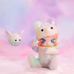 POP MART 泡泡玛特 MOLLY x INSTINCTOY 娃娃装侵蚀系列盲盒 随机1款