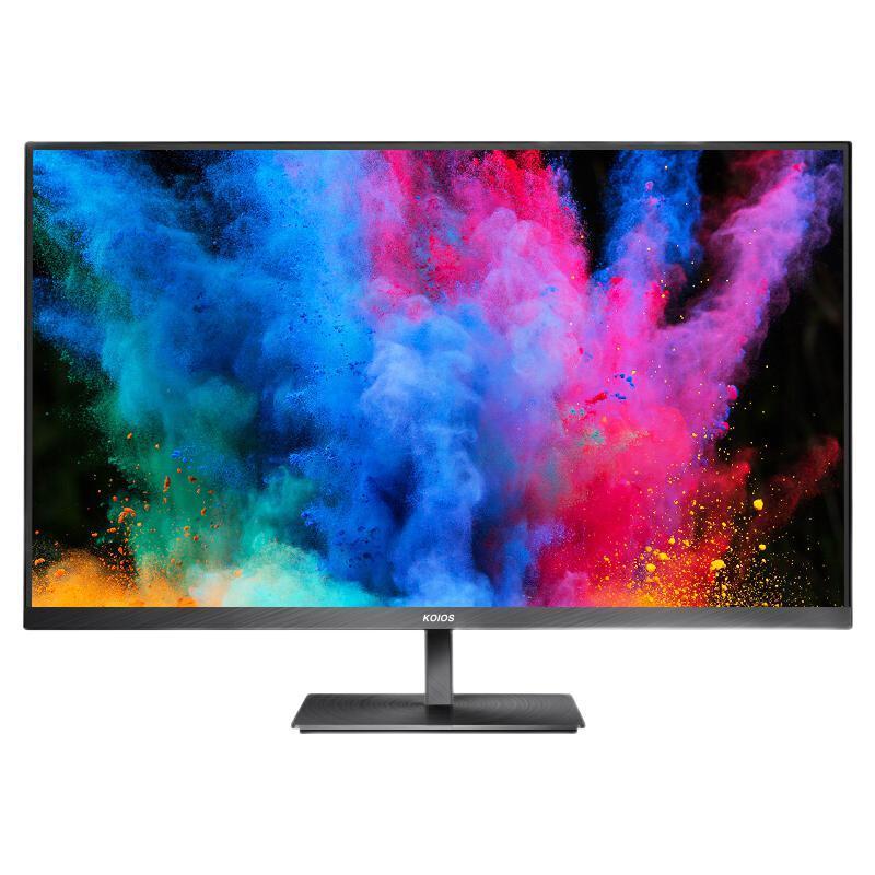 KOIOS 科欧斯 K3221U 31.5英寸4K HDR IPS 窄边框 旋转升降设计家用 专业电脑显示器