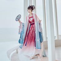 十三余 小豆蔻儿 鹤之羽仙 宋制汉服 女士褶裙 SHF152112