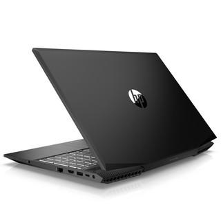 HP 惠普 Pavilion畅游人 电竞版 15.6英寸 游戏本 黑色(酷睿i5-8300H、GTX 1050Ti 4G、8GB、128GB SSD+1TB HDD、1080P、IPS)