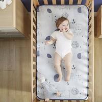 kub 可优比 婴儿冰丝透气凉席  除菌款-水果派对-静谧蓝 110×63cm