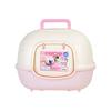 IRIS 爱丽思 WNT-510 全封闭式猫砂盆 粉色 51*40*30cm